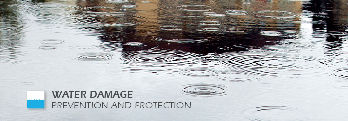 Water Damage Prevention Banner